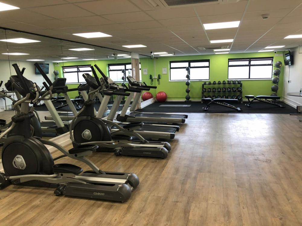 Holiday Inn Leicester Gym